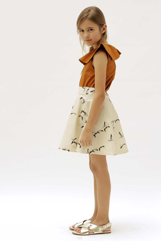 Osuna Skirt Birds Motoreta