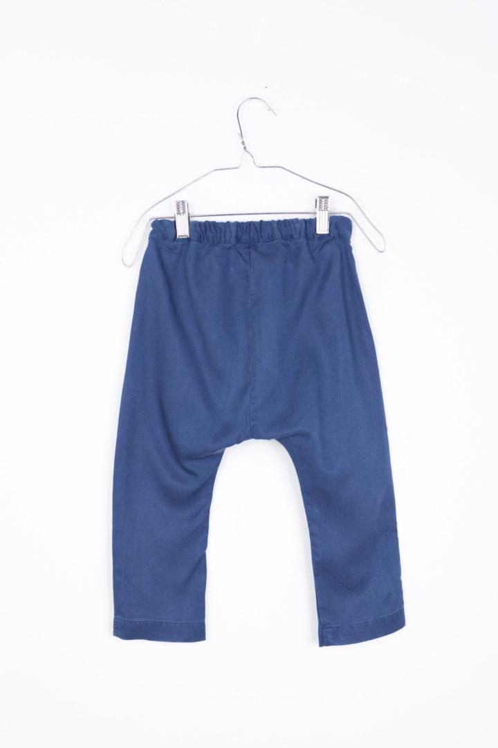 Baggy Baby Pants Navy Blue Motoreta